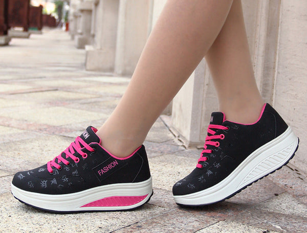 Leather breathable waterproof sneakers