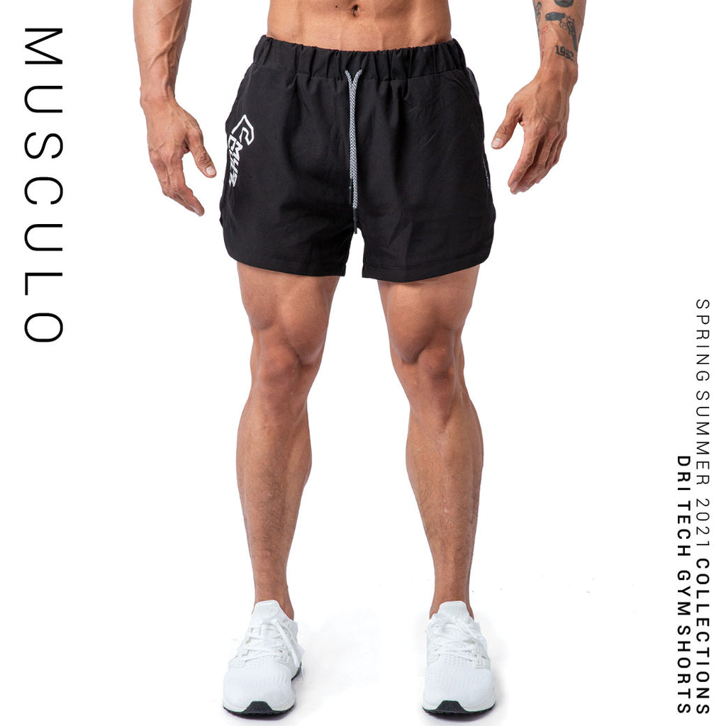 Musculo Dry tech gym shorts // SS 2021 - Black