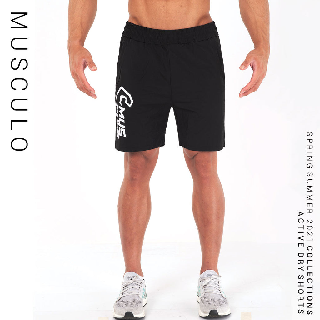 Musculo Active Dry Shorts // SS2020 - Black