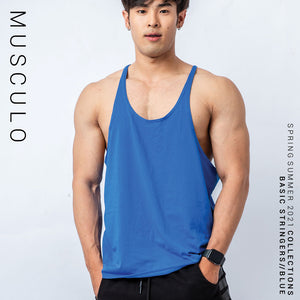 Musculo Basic stringers for body builder- Blue