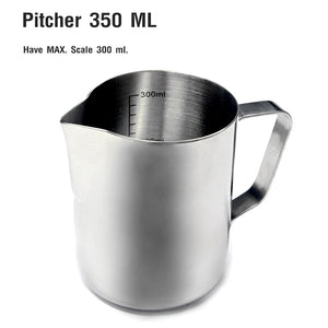 Stainless Milk Frothing Pitcher 350 cc.