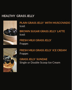 Healthy Grass Jelly (MENU ITEM NOT FOR SALE)