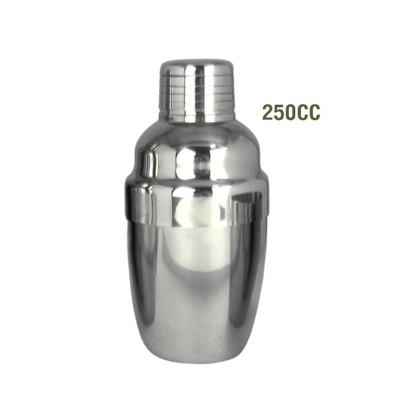 Stainless Cocktail Shaker 250 cc.