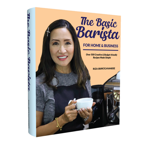 Book: THE BASIC BARISTA - For Home and Business 'FREE SHIPPING WORLDWIDE FOR ORDERS BY 15TH MAY 2021'