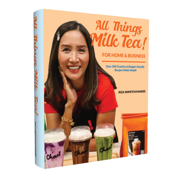Book: ALL THINGS MILK TEA - For Home and Business 'FREE SHIPPING WORLDWIDE FOR ORDERS BY 15TH MAY 2021'