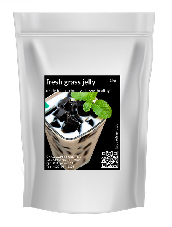 READY TO EAT FRESH GRASS JELLY