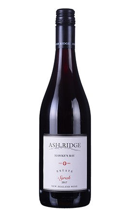 Ash Ridge - 2017 Estate Syrah 750ml