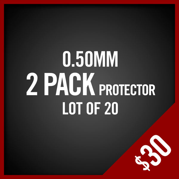 • Chalice Protector • 2-Pack  0.50MM  Lot of 20