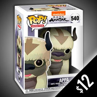 Funko Pop! Avatar The Last Airbender:  Appa #540