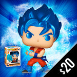Funko Pop! Chalice Collectibles Exclusive: Dragon Ball Super - SSGSS GOKU (Kamehameha) #563