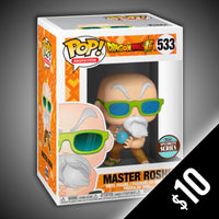 Funko Pop! Dragon Ball Super: Master Roshi (Max Power) #533
