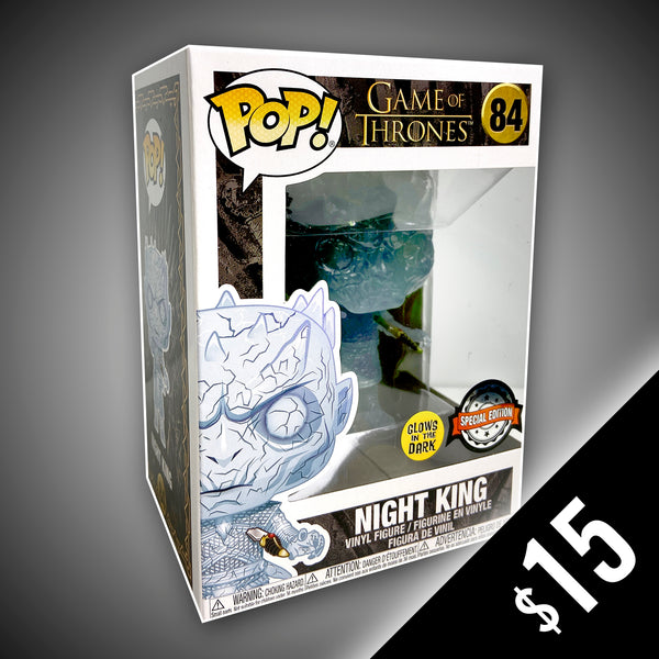 Funko Pop! Game OF Thrones: Night King - With Dagger (GITD) #84
