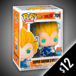 Funko Pop! Dragon Ball Z: Super Saiyan 2 Vegeta (Non-Chase) #709