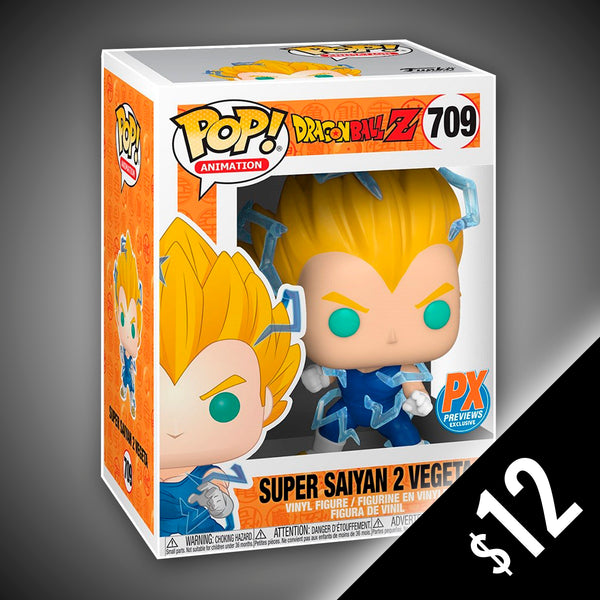 Dragon Ball Z: Super Saiyan 2 Vegeta (Non-Chase) #709