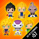 Pre-Order: Funko Pop! Dragon Ball Z: S8 (Set of 6 Commons)