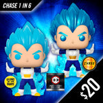 Funko Pop! Chalice Collectibles Exclusive: Dragon Ball Super - VEGETA (Powering Up) #713