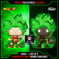 Funko Pop! Chalice Collectibles Exclusive: Dragon Ball Super - SUPER SAIYAN KALE #819