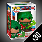 Funko Pop! Masters Of The Universe: King Hiss (Toy Tokyo) #1038