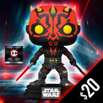 Pre-Order: Funko Pop! Chalice Collectibles Exclusive: Star Wars: Darth Maul #450