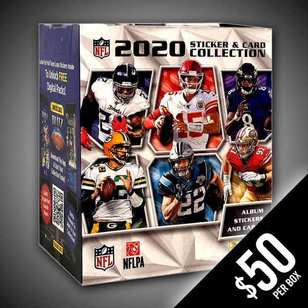 PANINI: 2020 Football - Sticker and Card Collection