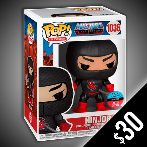 Funko Pop! Masters Of The Universe: Ninjor (Toy Tokyo) #1036