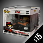 Funko Pop! Star Wars: Poe Dameron (X-Wing) #227