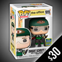 Funko Pop! The Office: Dwight as Recyclops V2 (Shared Sticker) #1015