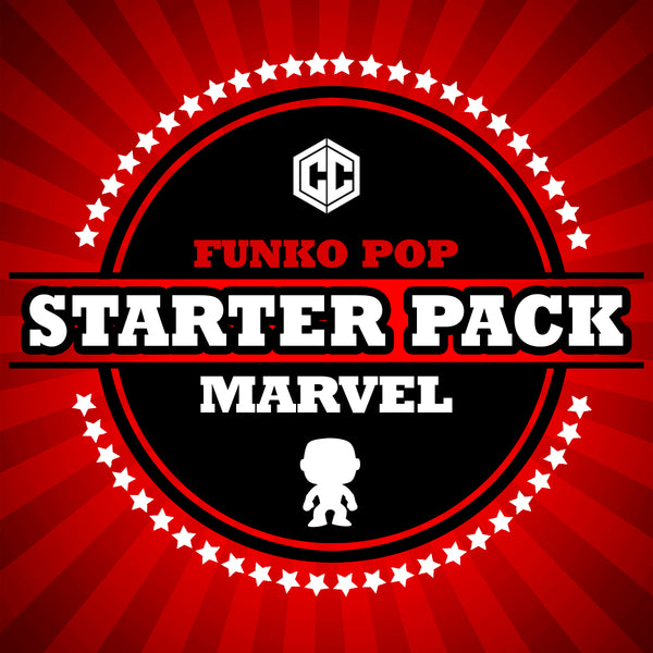 Funko Pop Starter Pack- MARVEL
