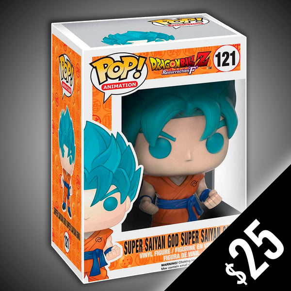 Funko Pop! Dragon Ball Z: Super Saiyan God Super Saiyan Goku #121