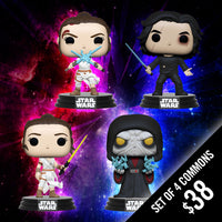 Pre-Order: Funko Pop! Star Wars: Ep9 (Set of 4 Commons)