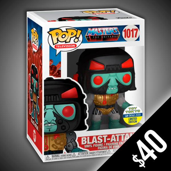 Funko Pop! Masters of the Universe: Blast-Attack (Toy Tokyo) #1017