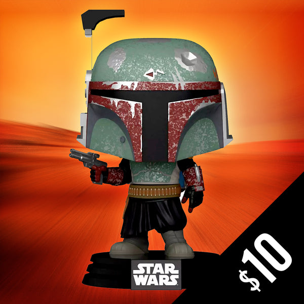 Star Wars - Boba Fett - Futura Black/Red (ECCC Shared Sticker) #297