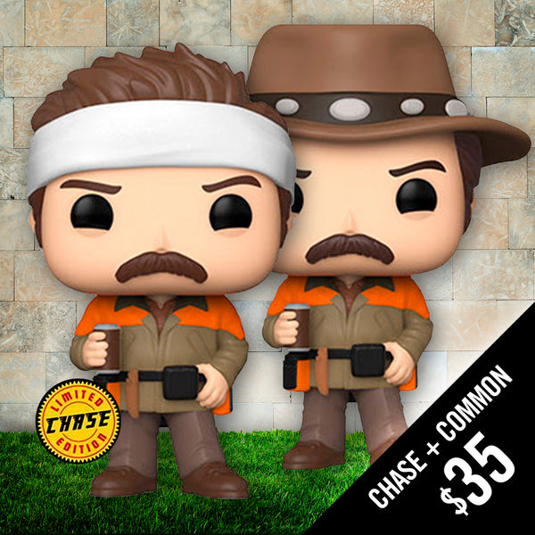 Pre-Order: Funko Pop! Parks and Recreation: Hunter Ron (Chase + Common)