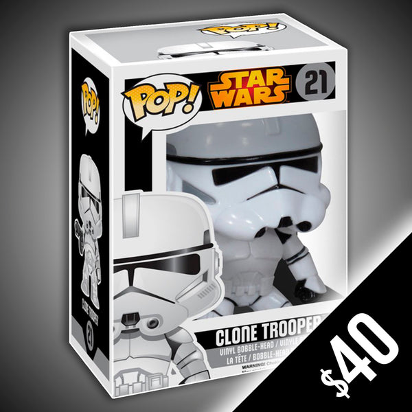 Funko Pop! Star Wars: Clone Trooper #21