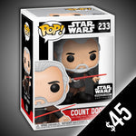 Funko Pop! Star Wars: Count Dooku #233