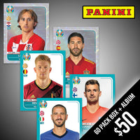PANINI: 2020 Euro Cup Soccer Preview (Stickers + Album)