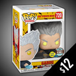 Funko Pop! One Punch Man:  Garou (GITD) #720