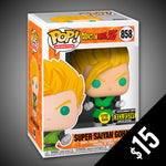 Funko Pop! Dragon Ball Z: Super Saiyan Gohan (GITD) #858