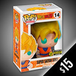 Funko Pop! Dragon Ball Z: Super Saiyan Goku (GITD) #14