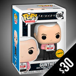 Pre-Order: Funko Pop! Friends (S3): Gunther (With Cup) #1064
