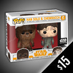 Funko Pop! Star Wars: Han Solo & Chewbacca (2-Pack)