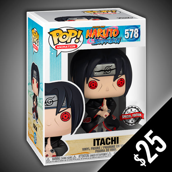 Funko Pop! Naruto Shippuden: Itachi #578 (International Sticker)