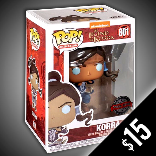 Funko Pop! The Legend of Korra: Korra (non-chase) #801