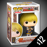 Funko Pop! Hunter X Hunter: Kurapika #653