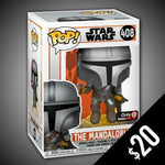 Funko Pop! The Mandalorian: Mando with Blaster #408