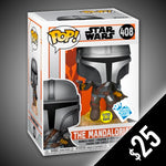 Funko Pop! The Mandalorian: With Blaster (GITD) #408