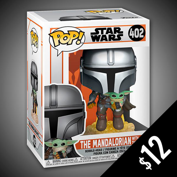 Funko Pop! Star Wars - The Mandalorian (With Child / Jet Pack) #402