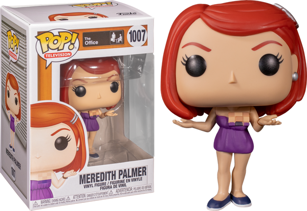 Funko Pop! Television: The Office- Meredith Palmer (Casual Friday) #1007