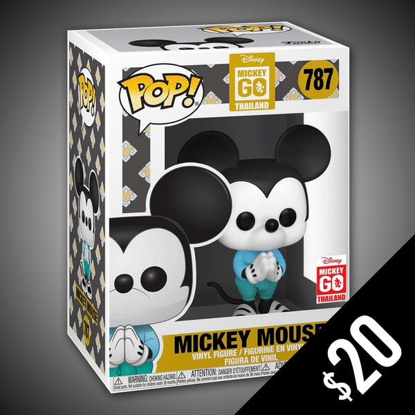 Funko Pop! Disney Mickey Go! Disney of Thailand Exclusive