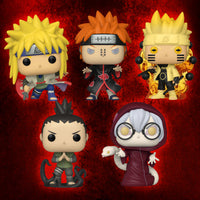 Pre-Order: Funko Pop! Naruto (Common set of 5)